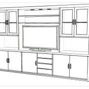Modular rack 280x45x185-Perspectiva